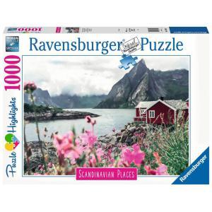 Ravensburger - 16740 - Puzzle 1000 pièces - Reine,Lofoten,Norvège (Puzzle Highlights) (470220)