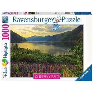 Ravensburger - 16743 - Puzzle 1000 pièces - Fjord en Norvège (Puzzle Highlights) (470222)