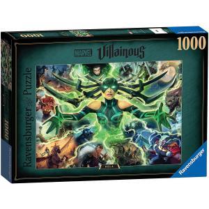 Ravensburger - 16903 - Puzzle 1000 pièces - Hela (Collection Marvel Villainous) (470230)
