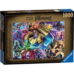 Ravensburger - 16904 - Puzzle 1000 pièces - Thanos (Collection Marvel Villainous) (470232)