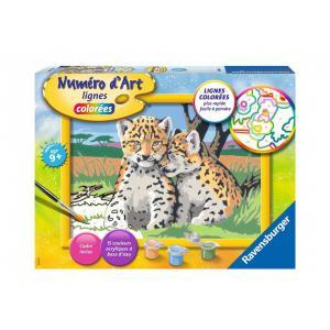Ravensburger - 29047 - Numéro d'art - moyen - Petits léopards (470260)