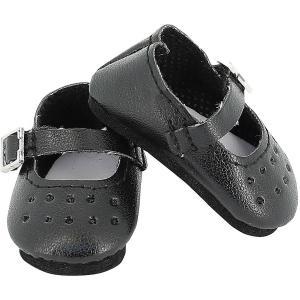 Petitcollin - 603406 - Chaussures à bride coloris noir pour poupée MINOUCHE taille 34 cm (470404)