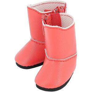 Petitcollin - 603407 - Bottes rouges pour poupée MINOUCHE taille 34 cm (470406)