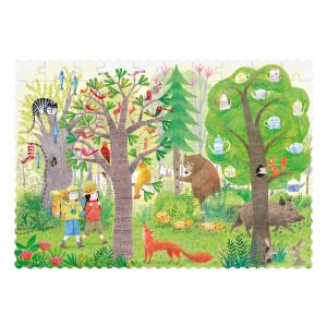 Londji - PZ553U - Pocket Puzzle - Night&Day in the Forest (470564)