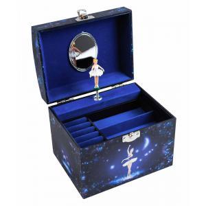Trousselier - S90070 - Grande Boite à Bijoux Musicale Phosphorescent Danseuse Etoile - Vanity Case - Rose (471932)