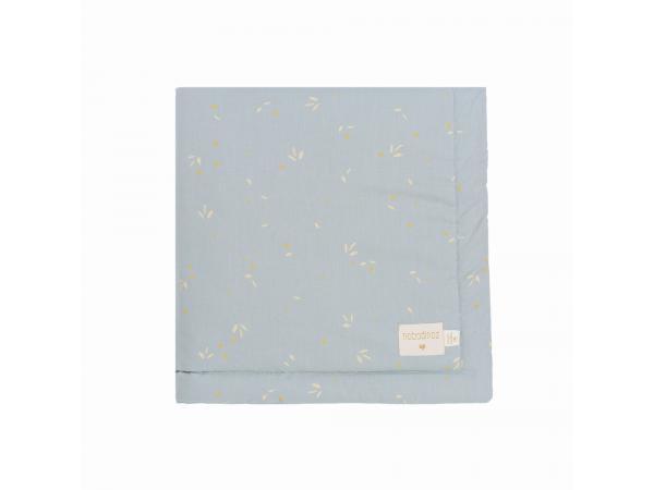 Couverture bébé laponia willow soft blue