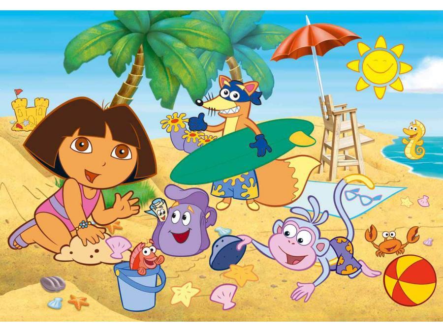 Boutique du fun pour la vie - Dora a la plage ...