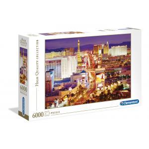 Clementoni - 36510 - Puzzles 6000 Pièces - Las Vegas (47577)