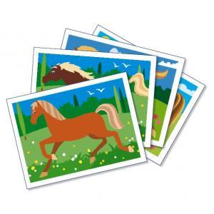 Sentosphère - 887 - Sablimage chevaux (47887)