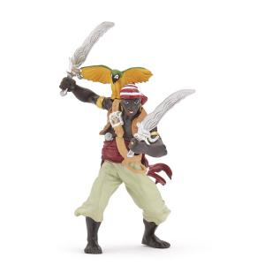 Papo - 39454 - Figurine Pirate aux sabres (50519)