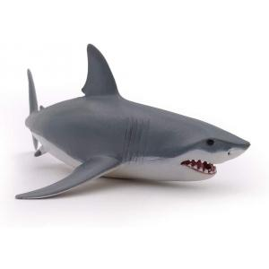 Papo - 56002 - Requin blanc - Dim. 17,8 cm x 11,8 cm x 6,2 cm (50570)
