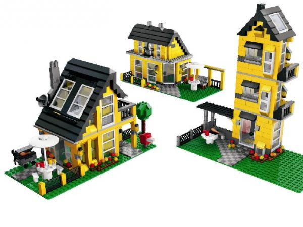 lego la maison de vacances. Black Bedroom Furniture Sets. Home Design Ideas