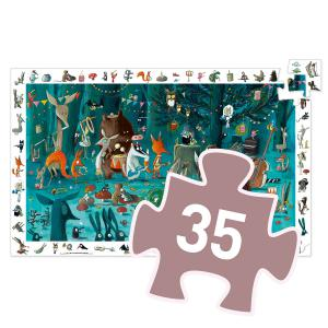Djeco - DJ07588 - Puzzle observation L'orchestre - 35 pièces (51234)