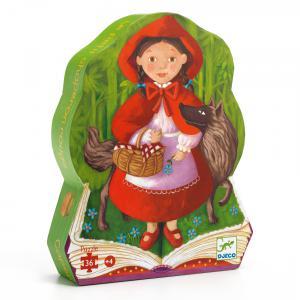 Le Petit Chaperon Rouge - DJ07230 - Puzzle silhouettes Le petit chaperon rouge - 36 pièces (51238)