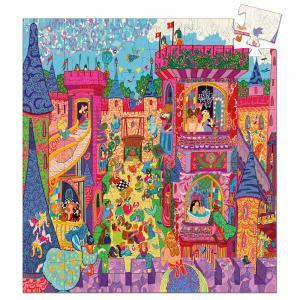 Djeco - DJ07246 - Puzzle silhouettes Château féerique - 54 pièces (51244)