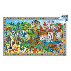 Djeco - DJ07559 - Puzzles observation chevaliers - 54 pièces (51256)