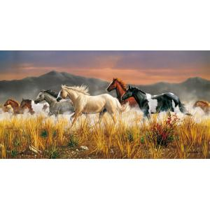 Clementoni - 38006 - Puzzle 13200 pièces - Band Of Thunder (51630)