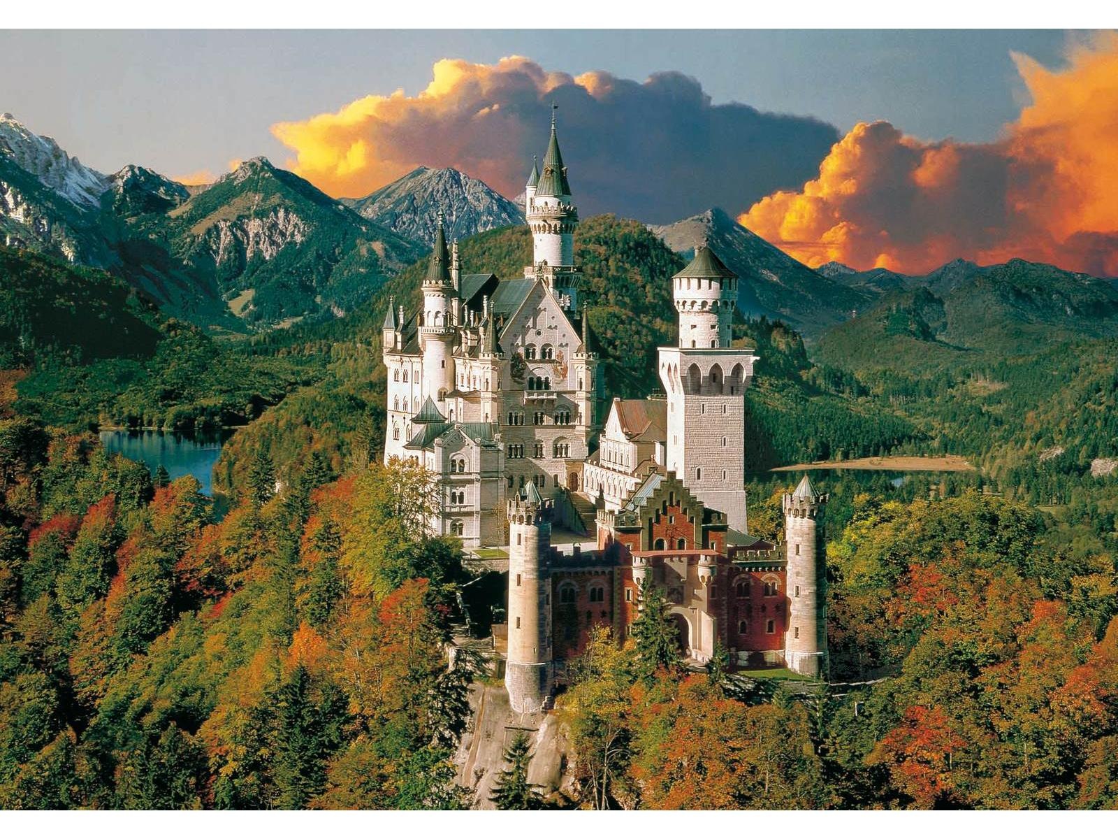 clementoni puzzle 6000 pi ces neuschwanstein. Black Bedroom Furniture Sets. Home Design Ideas