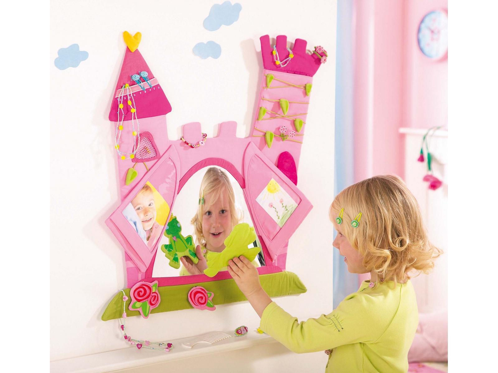 haba panneau mural d coratif princesse rose. Black Bedroom Furniture Sets. Home Design Ideas
