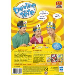 Megableu editions - 678060 - Devine tête - jeu de société dés 6 ans (52785)