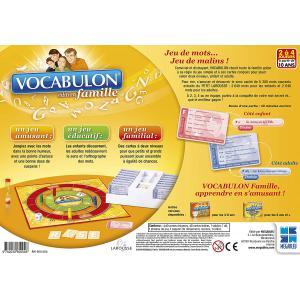 Megableu editions - 960004 - Vocabulon famille - dés 10 ans (52791)