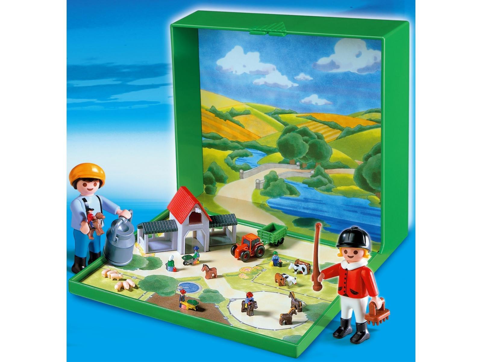 Playmobil micro playmobil ferme 4334 for Micro playmobil