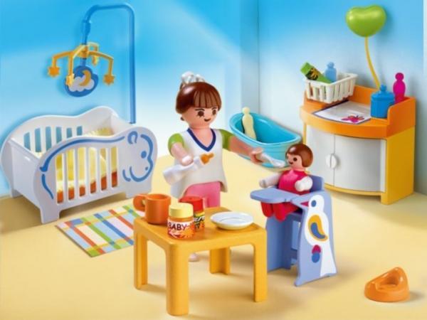 Playmobil chambre de b b for Prix salle de bain playmobil