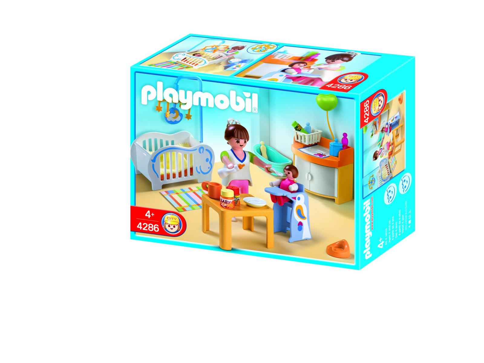 playmobil 4286 chambre de bb - Play Mobile Fille