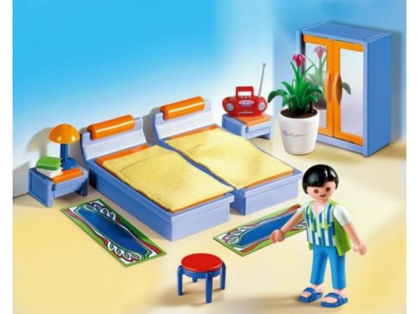 playmobil 4284 chambre des parents - Playmobil Maison Moderne 4279