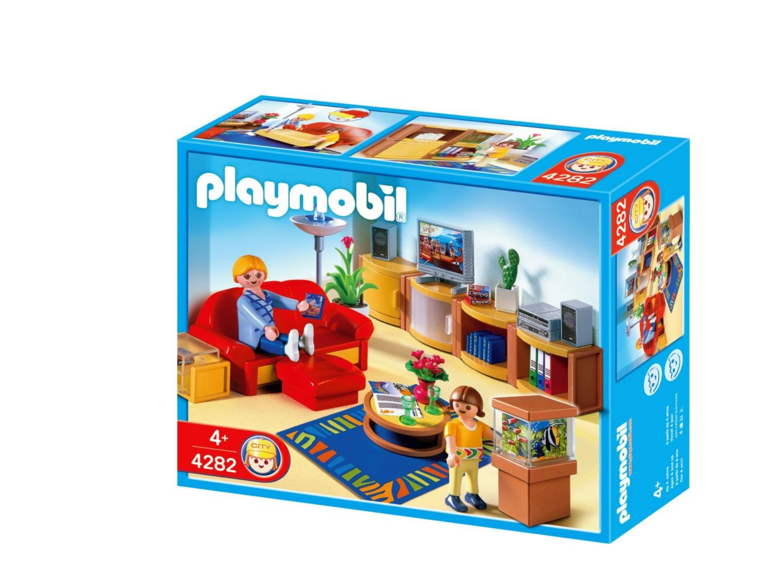 Playmobil salle de s jour for Salle de sejour playmobil