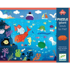 Djeco - DJ07116 - Puzzle géants Sous la mer (63829)