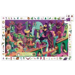 Djeco - DJ07560 - Puzzles observation Dans un jeu vidéo - 200 pcs (63843)