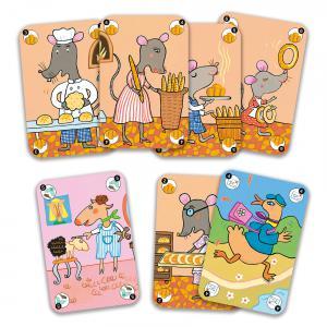 Djeco - DJ05115 - Jeu de cartes Happy Family (63856)