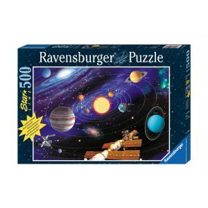 Ravensburger - 14926 - Puzzle 500 pièces - Star Line Collection - Le système solaire (64275)