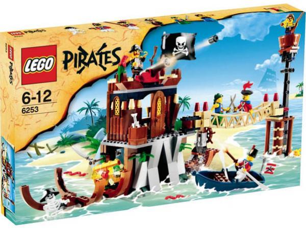 Lego le repaire des pirates - Ile pirate lego ...
