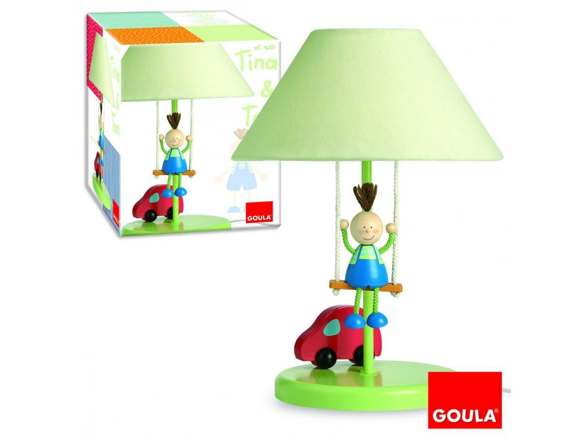 goula lampe chevet tom. Black Bedroom Furniture Sets. Home Design Ideas