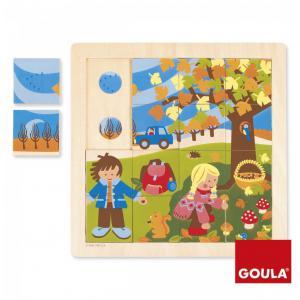 Goula - 53087 - Puzzle Automne (64918)