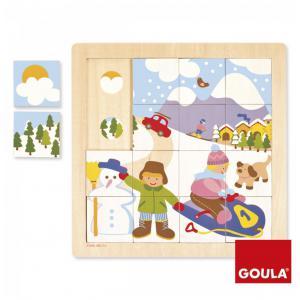 Goula - 53088 - Puzzle Hiver (64930)