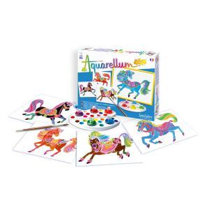 Sentosphère - 691 - Aquarellum Junior chevaux (66022)