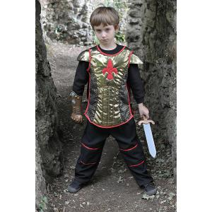 Travis - BH6 - Costume Brave Heart black/gold - 6 à 8 ans (66135)