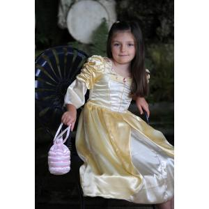 Travis - PPA6 - Costume Reversible Princess / Pauper 2 in 1 blue/gold - 6 à 8 ans (66222)