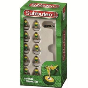 Megableu editions - 678302 - Subbuteo boite équipe Brésil (67230)