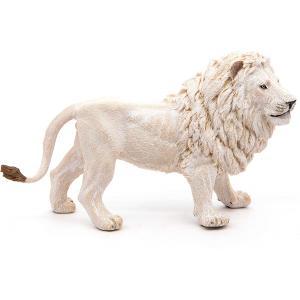 Papo - 50074 - Lion blanc - Dim. 14,5 cm x 4,7 cm x 8,2 cm (67441)