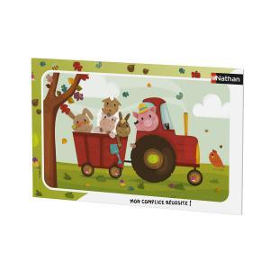 Nathan puzzles - 86015 - Puzzle cadres 15 pièces - Bienvenue à la ferme (7055)