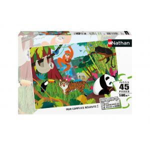 Le Roi Lion - 86469 - Puzzle 45 pièces - Les animaux de la jungle (7102)