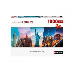 Nathan puzzles - 87458 - Puzzle N 1000 pièces - Les monuments de New York (7198)