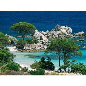 Nathan puzzles - 87459 - Puzzle 1000 pièces - Nathan - Plage de Palombaggia, Corse du Sud (7199)