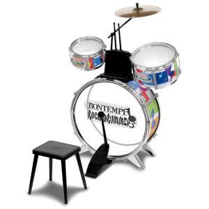 Bontempi - JD4530 - Batterie Rock drummer métallisée (75424)