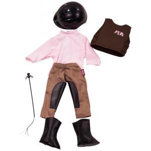 Gotz - 3401553 - Vetements de cavaliere, 7 pieces pour poupées de 45-50cm (78400)