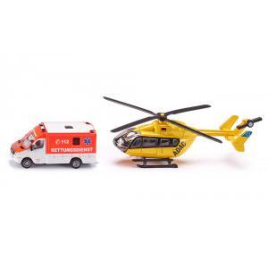 Siku - 1850 - Set ambulance - 1:87ème (85300)